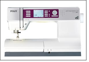 PFAFF unveils new EXPRESSSION line of sewing machines