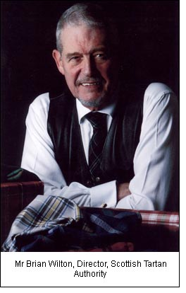 Mr Brian Wilton, Director, Scottish Tartan Authority