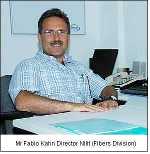 Mr Fabio Kahn Director Nilit (Fibers Division)