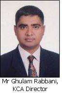 Mr Ghulam Rabbani, KCA Director