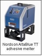 Nordson AltaBlue TT adhesive melter