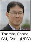 Thomas Chhoa, GM, Shell (MEG)