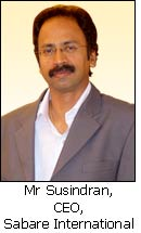 Mr Susindran, CEO, Sabare International