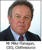 Mr Mike Flanagan, CEO, Clothesource
