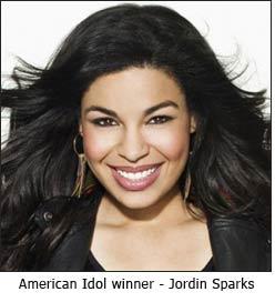 American Idol winner - Jordin Sparks