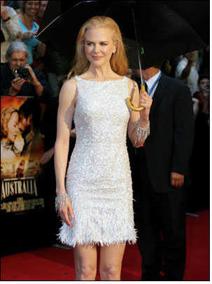 Kidman graces premiere with jewellery from Forevermark diamonds