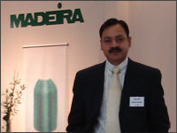 Mr Akshay Kumar, National Manager, Madeira India Pvt Ltd