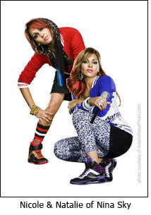 Nicole & Natalie of Nina Sky