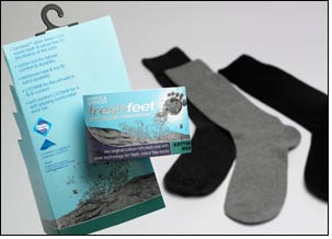 M&S Freshfeet now treated with Sanitized Silver