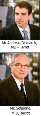 Mr Andreas Bismarck, MD - Terrot
