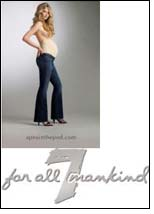 A Pea in the Pod offers 7 for all Mankind Designer Maternity Jeans