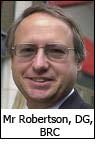Mr Robertson, DG, BRC