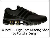 Bounce:S - High-Tech Running Shoe by Porsche Design