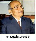Mr Yogesh Kusumgar