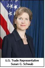 U.S. Trade Representative Susan C. Schwab
