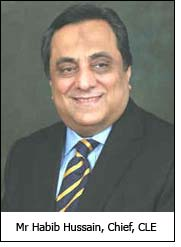 Mr Habib Hussain, Chief, CLE