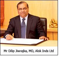 Mr Dilip Jiwrajka, MD, Alok Inds Ltd