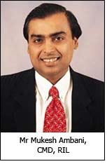 Mr Mukesh Ambani, CMD, RIL