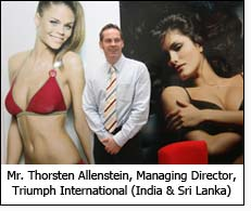 Mr. Thorsten Allenstein, Managing Director, Triumph International