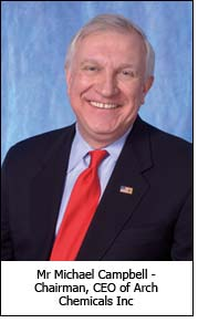 Mr Michael Campbell - Chairman, CEO of Arch Chemicals Inc