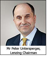 Mr Peter Untersperger, Lenzing Chairman