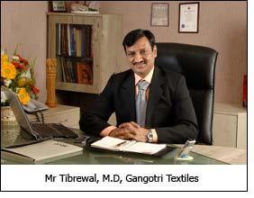 Mr Tibrewal, M.D, Gangotri Textiles