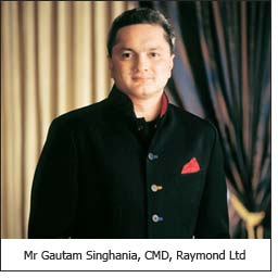 Mr Gautam Singhania, CMD, Raymond Ltd