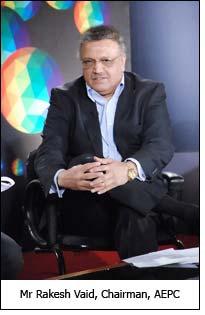 Mr Rakesh Vaid, Chairman, AEPC