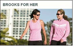 Brooks For Her apparel collection inspires both good run & great cause