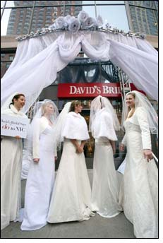 David's Bridal store arrives in Manhattan (fashion capital of the world)