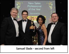 Samuel Slade - second from left