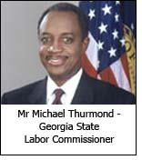 Mr Michael Thurmond - Georgia State Labor Commissioner