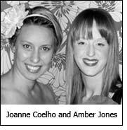 Joanne Coelho and Amber Jones