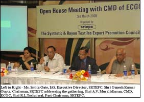 SRTEPC organizes Interactive Meeting with CMD of ECGC
