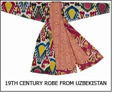 19th Century robe from Uzbekistan