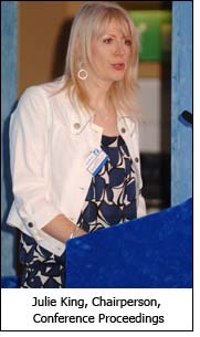 Julie King, Chairperson, Conference Proceedings