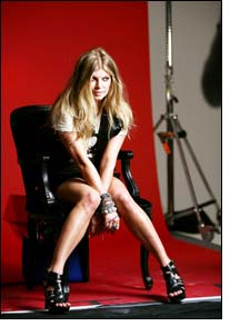 Fergie's sexy summer footwear line with a glam rock influence
