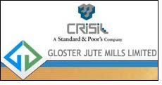 CRISIL 'A-' & 'P2+' for Gloster Jute Mills' bank facilities