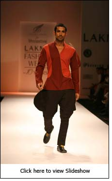 Menswear Day by Digvijay, Rohit, Abhishek & S Hingu at LFW - Day 2
