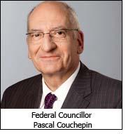 Federal Councillor Pascal Couchepin