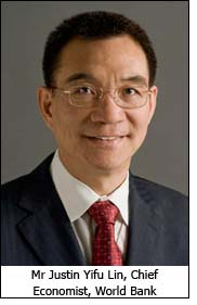Mr Justin Yifu Lin, Chief Economist, World Bank