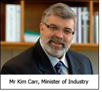 Mr Kim Carr, Minister of Industry