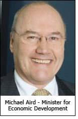 Michael Aird - Minister for Economic Development