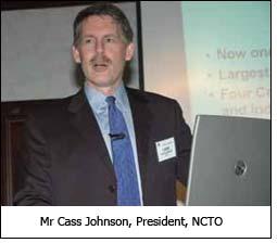 Mr Cass Johnson, President, NCTO