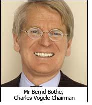 Mr Bernd Bothe, Charles Vögele Chairman
