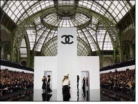 Karl Lagerfeld for Chanel Belle Brumelle RTW fall winter collection
