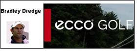 Bradley Dredge to endorse ECCO Golf Shoes