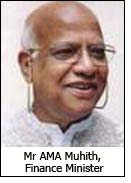 Mr AMA Muhith, Finance Minister