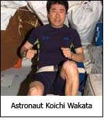 Astronaut Koichi Wakata