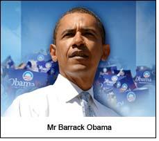 Mr Barrack Obama